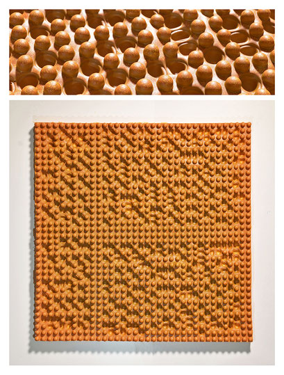 E0BSY17V0 (03) epoxy resin, pigments, 53x53x5cm, 2017