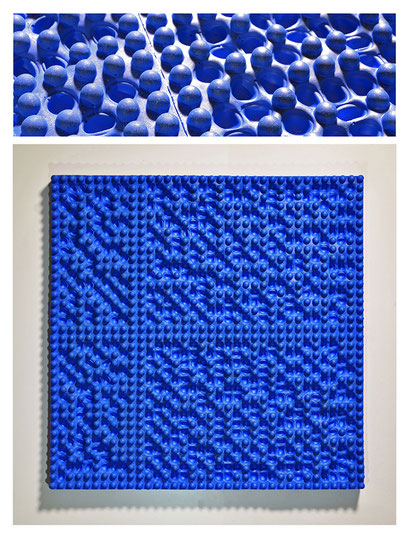 E0BSY17V0 (01) epoxy resin, pigments, 20x29,5x2,5 cm, 2017