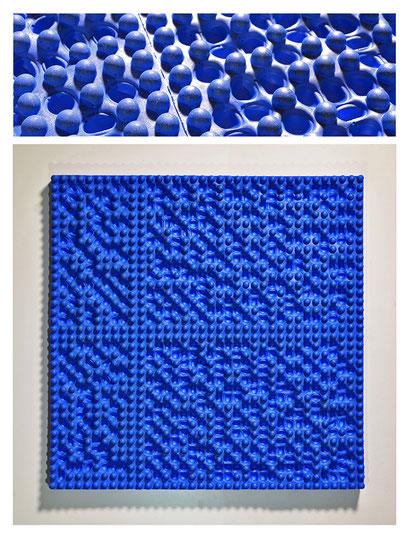 E0BSY17V0 (01) resina epossidica, pigmento, 20x29,5x2,5 cm, 2017