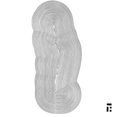 penna nera su carta - 32x32 cm - 2016