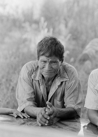 © Angela Mejias. Quelques 2833 Sanapanás vivent dans le département de Presidente Hayes. Paraguay
