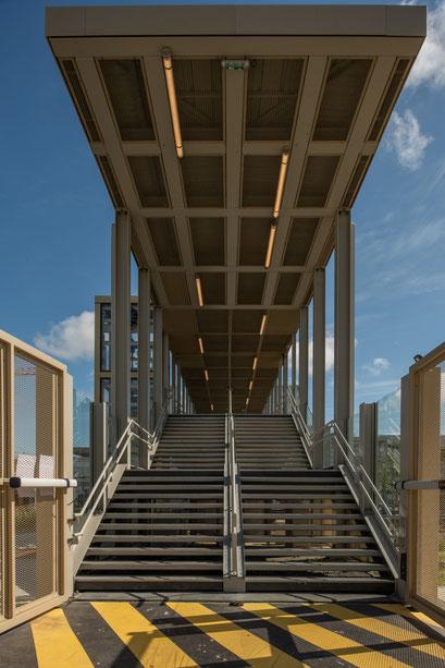 Saint-Nazaire 6 - Escalier de la gare