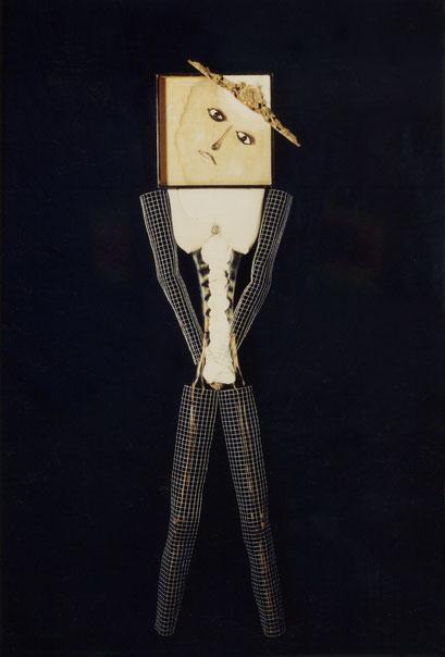 OTRA MUJER. 1996. 165 x 43 x 10 cm. Mixed media