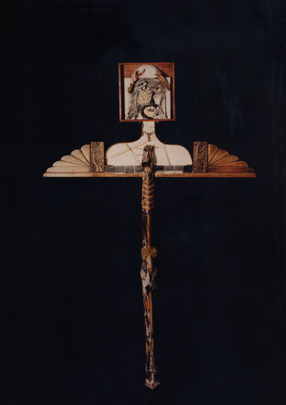 OTRO CRISTO. 1996. 185 x 121 x 13 cm. Técnica mixta