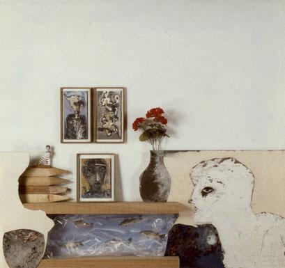OTRO RINCÓN. 1997. 125 x 125 x 18 cm. Mixed media