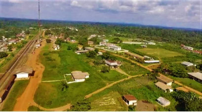 Makak College Evangelique Libambaue aérienne de Makak