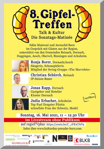 Plakat + Event-Organisation