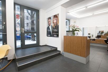 Schnittberg Friseure - Eingangsbereich