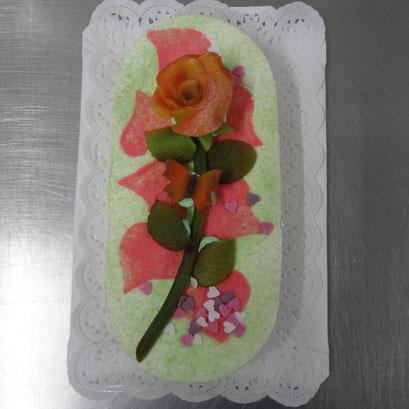 Muttertag - Torte mit Rose