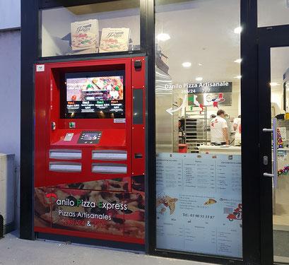distributeur pizza multiquattro
