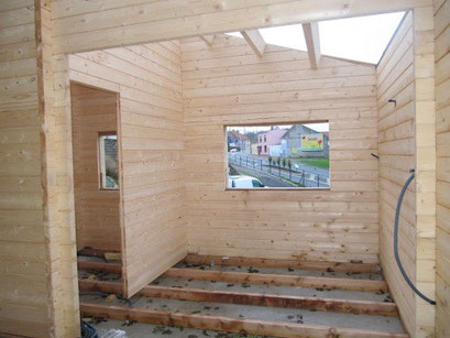 chalet en kit auto-construction