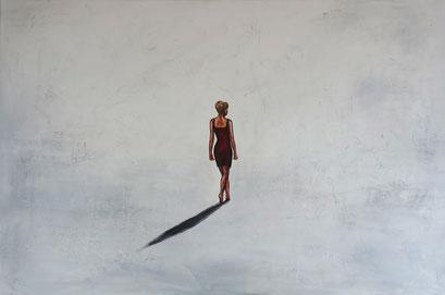 F 71 - Figuerliche Malerei - Figurative Wandbilder - Auf dem Weg 3