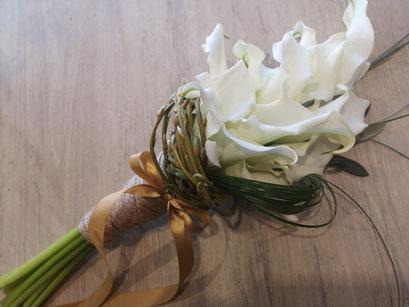 Bouquet d' arums 40 euros