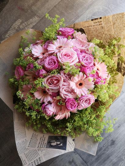 Bouquet rond 60 euros, à partir de 40 euros