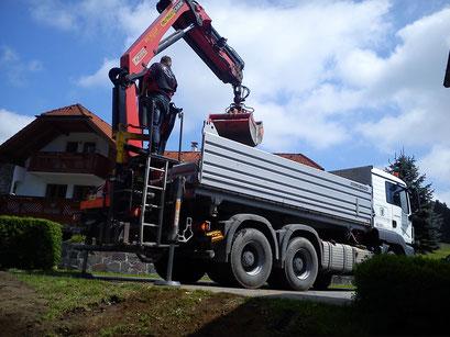 LKW Neundlinger Oberkappel Rohrbach (Spedition Transporte)