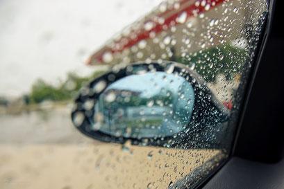 ... erster Regen ...