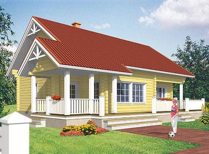 Blockhaus als Wohnhaus - Holzhaus Regensburg - Blockhäuser bauen und Preise - Blockhausbau schlüsselfertig - Holzbau - Blockhäuser mit Grundstück