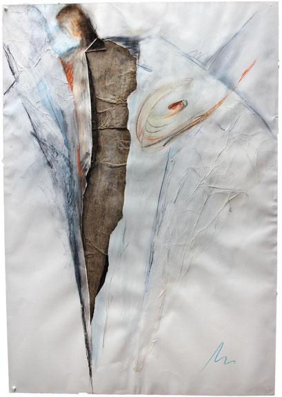 ohne Titel   1988/98   Mischtechnik auf Papier   100 x 70 cm