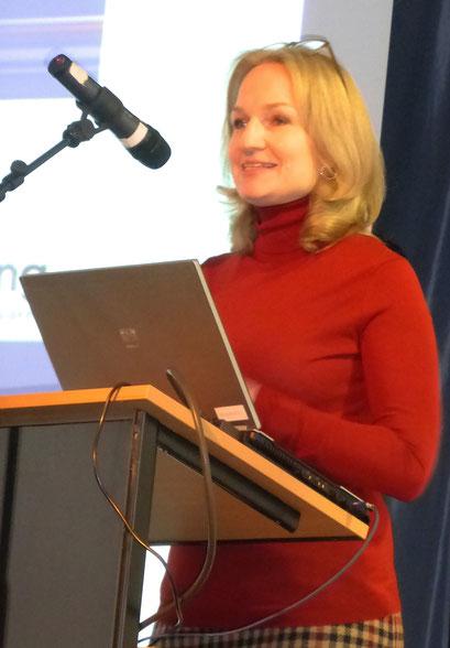 Ariadne Klingbeil, Rednerin beim Festakt