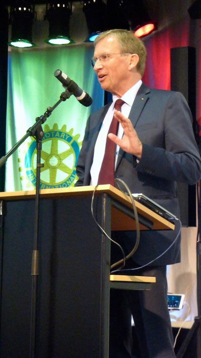 Manfred Inkmann, Präsident 2018/19 des Rotary Clubs Wesel-Dinslaken