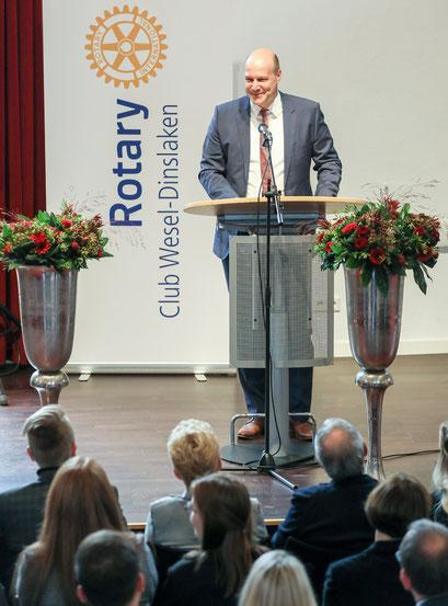 Philipp Abresch hält die Festrede