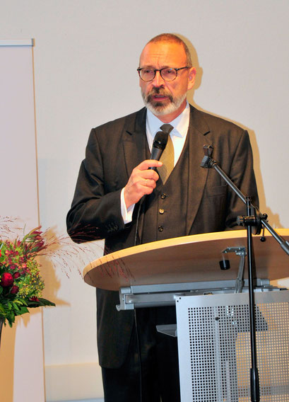 Joachim Otting, Präsident des Rotary Clubs Wesel-Dinslaken 2019/20