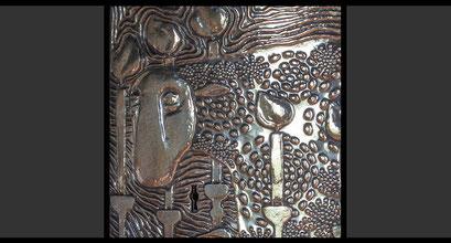 »Das Apokalyptische Lamm« (Detail) Tabernakeltür, 1965
