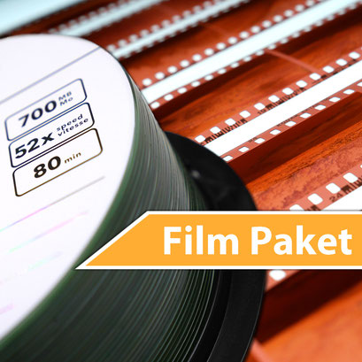 Film Digitalisierung-Paket