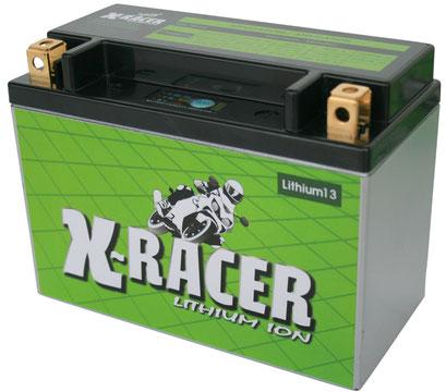 Unibat X-Racer Lithium 13, 360 CCA, Abmaße 150 x 87 x 105 mm, Gewicht 1,4 kg