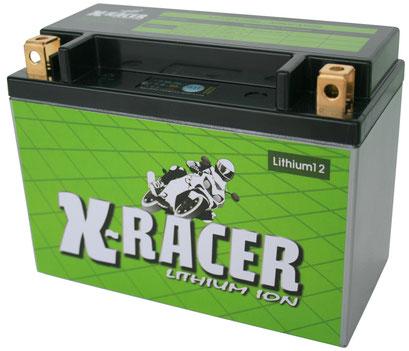 Unibat X-Racer Lithium 12, 380 CCA, Abmaße 175 x 87 x 130 mm, Gewicht 1,7 kg