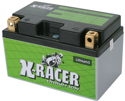 Unibat X-Racer Lithium 3, 240 CCA, Abmaße 150 x 87 x 90 mm, Gewicht 0,9 kg