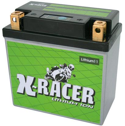 Unibat X-Racer Lithium 11, 260 CCA, Abmaße 134 x 75 x 133 mm, Gewicht 1,1 kg