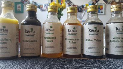 Massage, Kinesiologie, Ayurveda