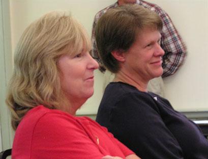 Sherry Potter and Carol Kaelin