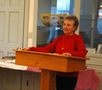 Speaker Donna Mahan