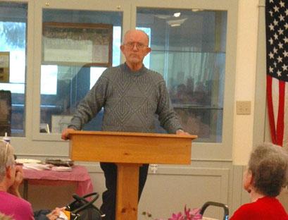 Speaker Cliff Anderson