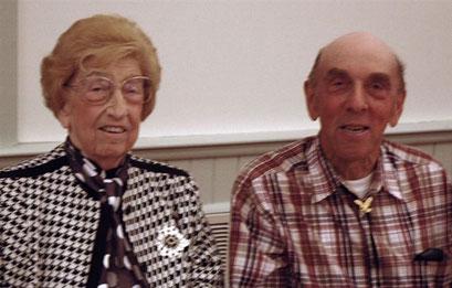 Louise Arnhold-Bisterfeldt with Dick Kaelin