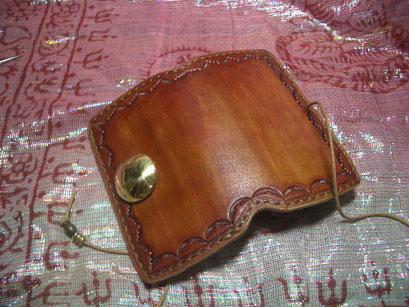 LWZ長財布を 小さくしました