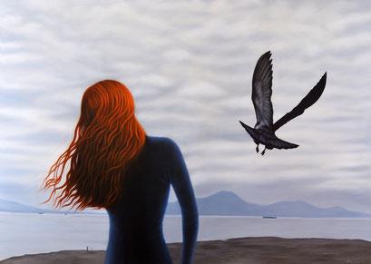 Shadows 8, 2020, 120/170 cm, oil on canvas