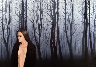 Shadows 5, 2019, 120/170 cm, oil on canvas