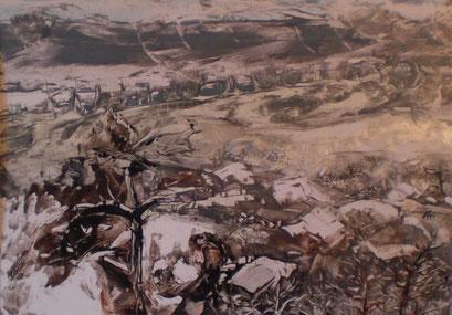 Titel: Winterlandschaft, Jahr: 2011