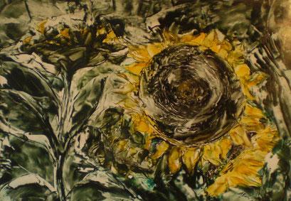 Titel: Sonnenblume, Jahr: 2012