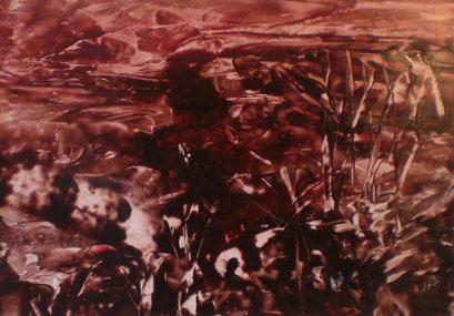 Titel: Die Landschaft, Jahr: 2011