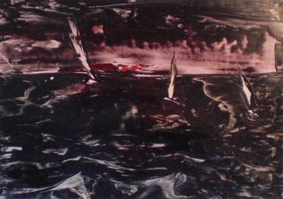 Titel: Nachtsegeln, Jahr: 2010