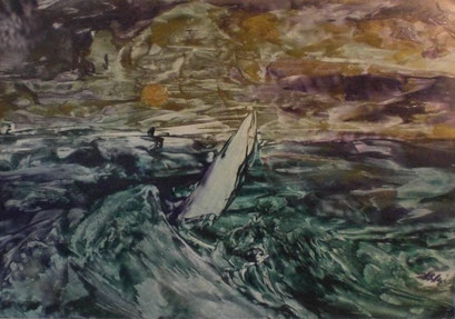 Titel: Das Segelbot, Jahr: 2011