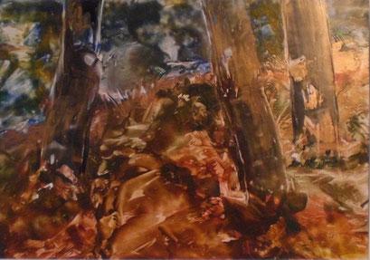 Titel: Bäume, Jahr: 2010