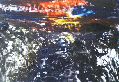 Titel: Sonnenuntergang, Jahr: 2011