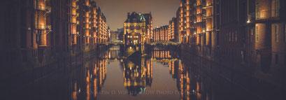 Germany / Hamburg / Hafen-City / Speicherstadt by Night 2017