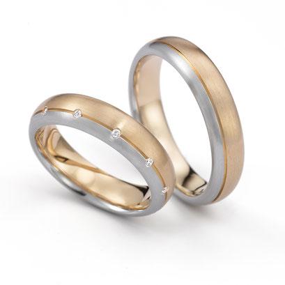 Henrich und Denzel - trouwringen