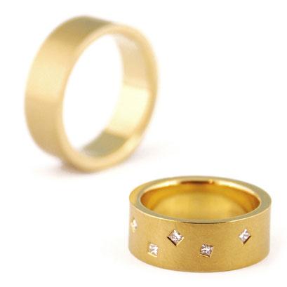 Nobilia - Sterrenhemel met princess geslepen diamanten